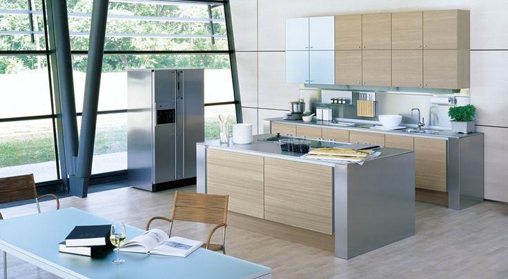 Open Kitchen Designs Photo Gallery Open Kitchen Design Pinterest