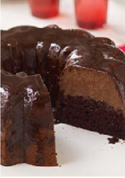 Triple-Chocolate Mousse Cake – Live the triple-chocolate dream with ...