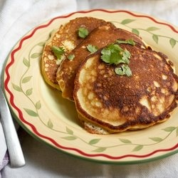 Savory Buttermilk Pancakes with Corn | Bacon, Egg, and Cheese :D | Pi ...