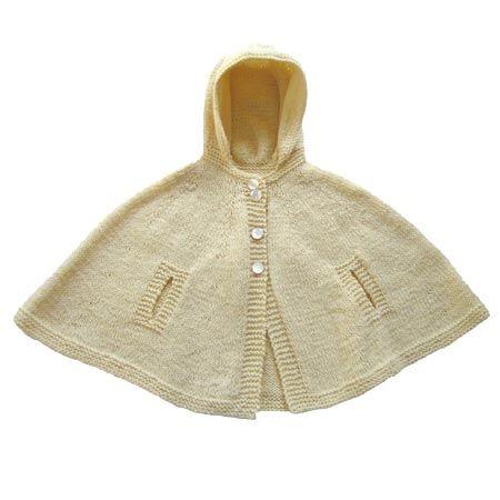 Sweet hoodie cape pattern!