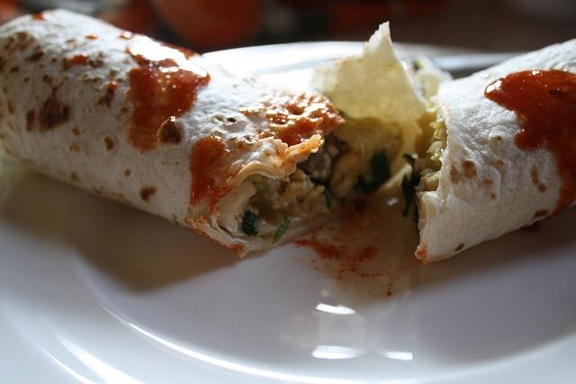 Scrambled Burrito | mexican food | Pinterest