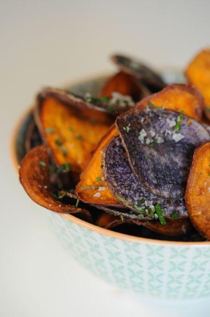 homemade potato chips | Food & drink & something sweet :) | Pinterest