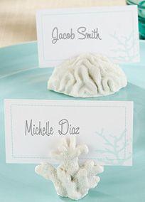 Coral Place Card/Photo Holder, Style 2512WT #davidsbridal #beachweddings #weddingaccessories