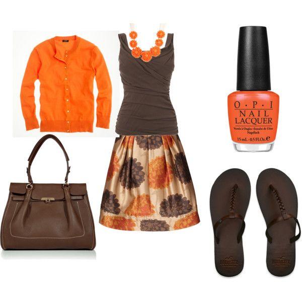 Orange & Browns
