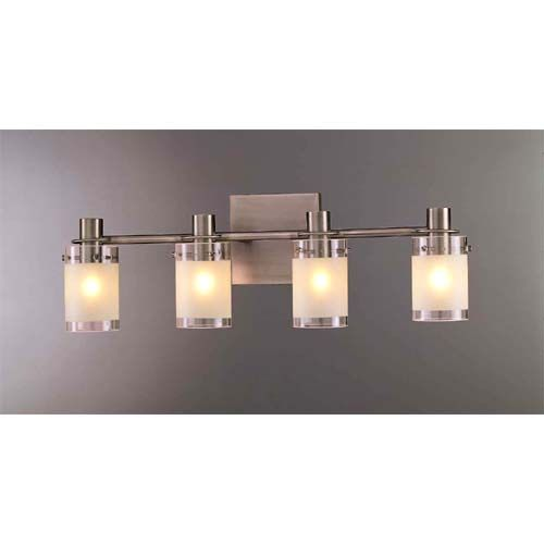 light bath fixture george kovacs 4 light bathroom lighting wall. Black Bedroom Furniture Sets. Home Design Ideas