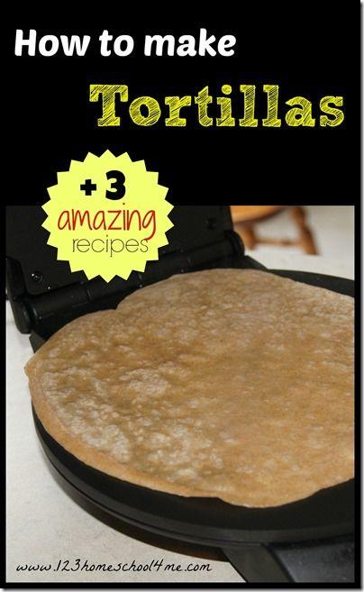 how to make tortillas | Recipes | Pinterest