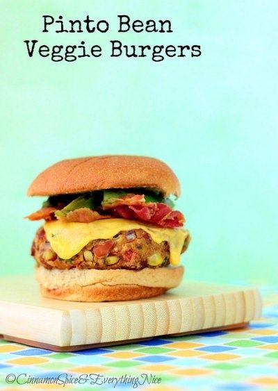 Pinto-and-Rice Burgers Recipes — Dishmaps