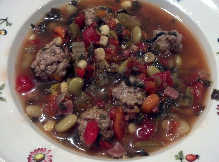 Spicy Pork Meatball Soup | Soups and Stews | Pinterest
