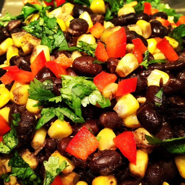 Black Bean, Quinoa & Corn Salad | My stuff | Pinterest