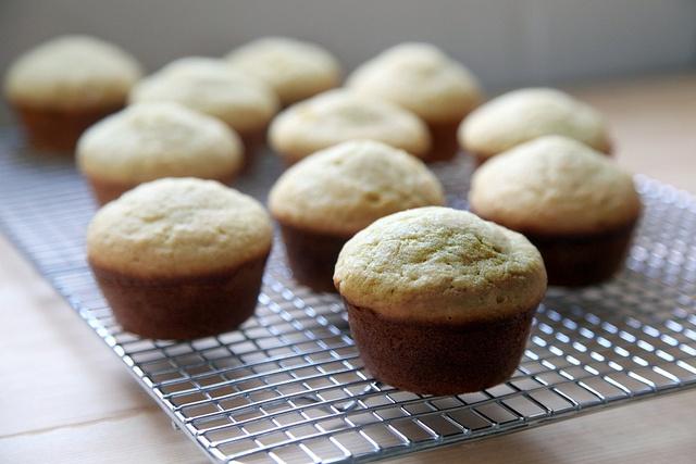 Lemon ginger muffins! Sound so good!