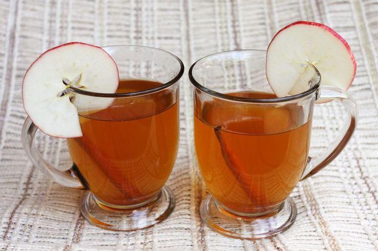 Spiced Apple Cider -- Needed: 4-5 cups apple juice, 1/2 teaspoon ...