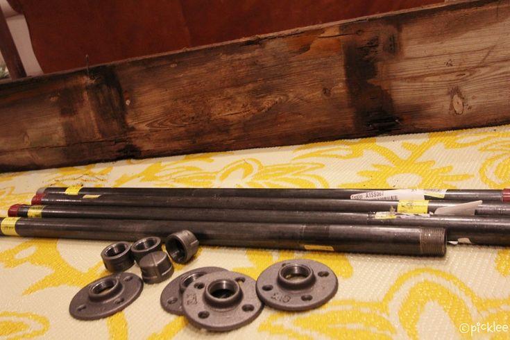 Pin by lori burkheimer on so crafty pinterest for Wood table iron legs