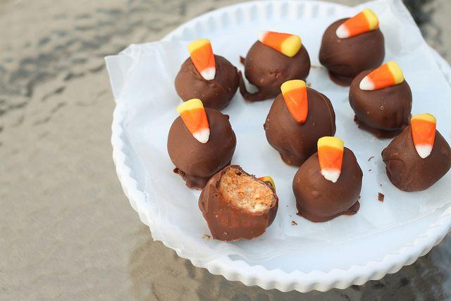 Candy Corn Oreo Truffles | Recipes I'd Like to Try | Pinterest