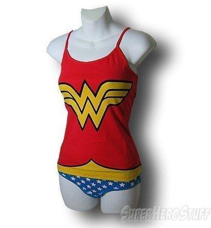Wonder Woman cami & panty set