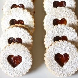 Linzer cookies | FOOD/DRINK | Pinterest