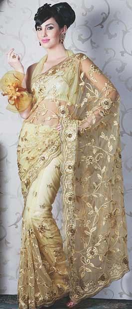Net Saree, Sarees, Saree with blouse by #utsavfashion | $117.63