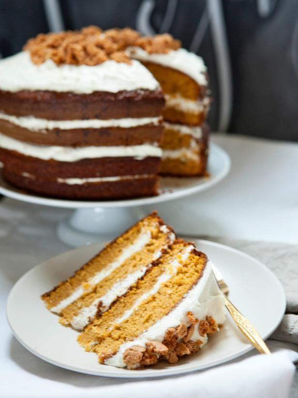Pumpkin Tiramisu Layer Cake Recipe - need amaretti cookies and ...