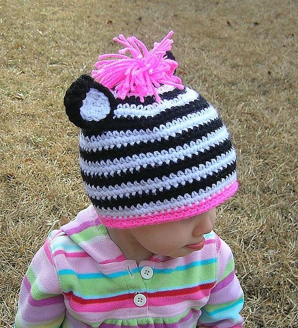 Crochet Zebra Hat : Ravelry: Zebra Hat Crochet Pattern pattern by Robin Croninger
