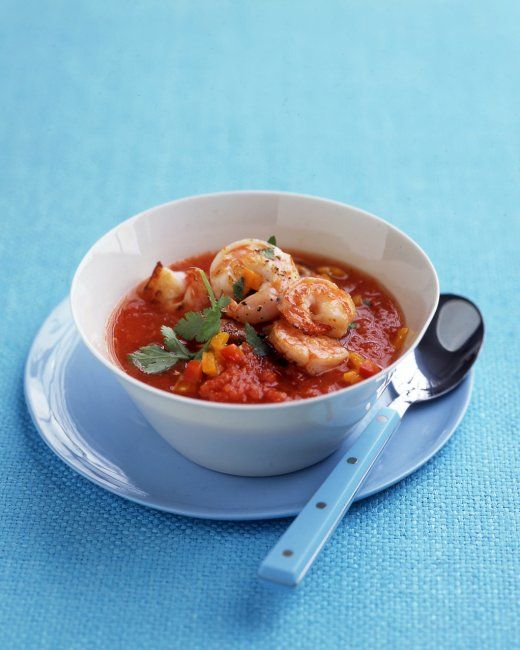 Shrimp Gazpacho | Hungry | Pinterest