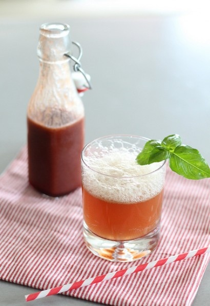 Cherry-Basil Soda - http://www.jellypin.com/cherry-basil-soda/