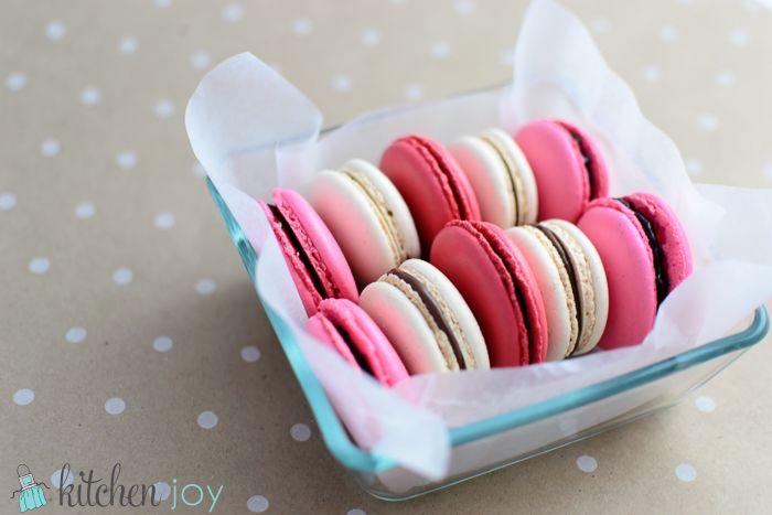 Vanilla Bean Macarons | Recipe