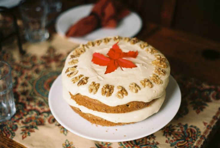 Fuji Apple Spice Cake with Cream Cheese Frosting Recipe