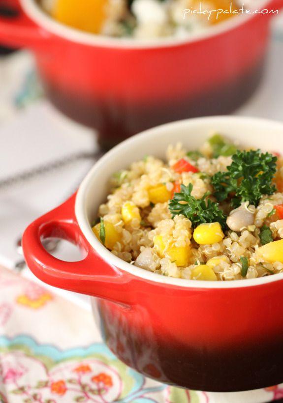 Summertime Quinoa Salads
