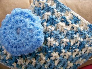 Knitting Love: Free Pattern -- Crochet Tawashi Dishtowel
