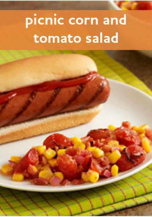 Picnic Corn and Tomato Salad | Recipe