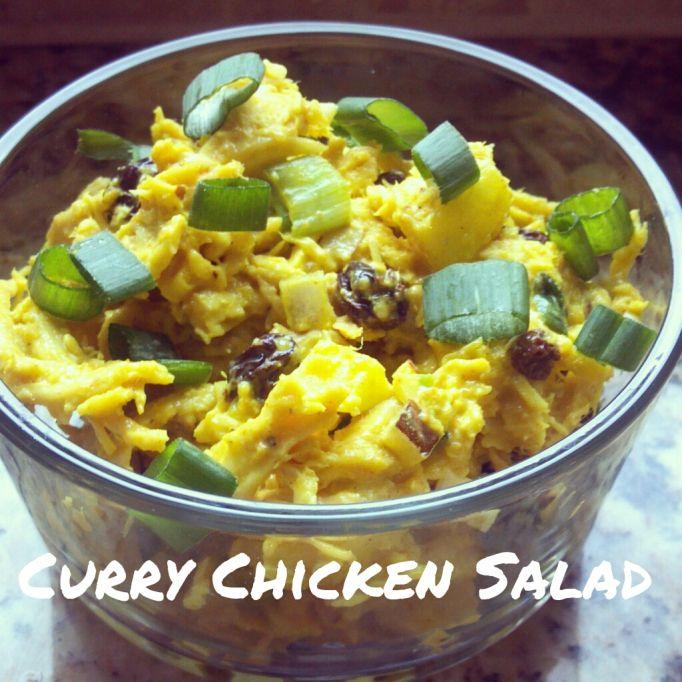 curry chicken salads