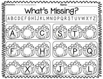 english kindergarten activities:
