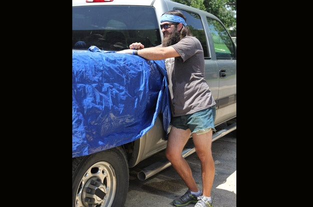 Jep in his homemade jorts | Duck Dynasty | Pinterest