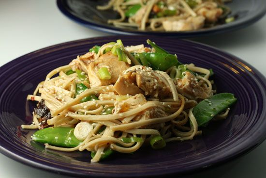 Asian Chicken Noodle Salad. Really liking the sound of the mango ...