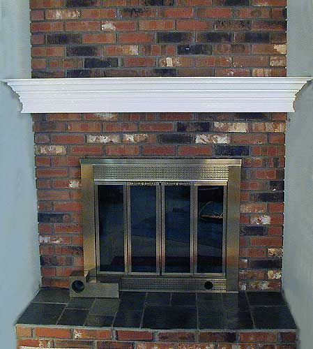 Brick Fireplace Mantel Project Finds Pinterest