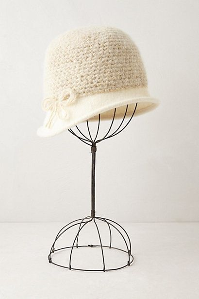 Cassiopeia Cloche #anthropologie #anthrofave