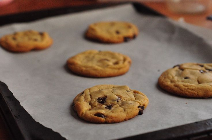 perfect chocolate chip cookies | Life In Limbo recipes | Pinterest