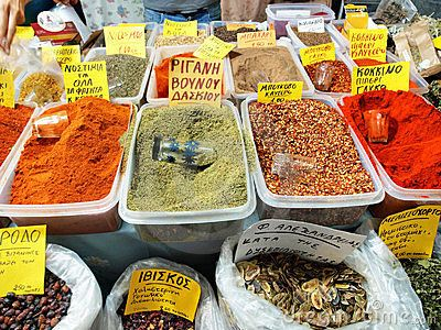 Greek Spices | Spice it UP! | Pinterest