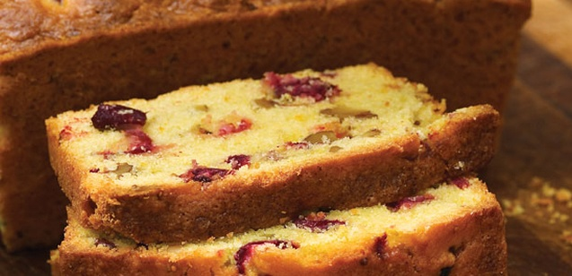 cranberry orange loaf... | Delicious Yumminess | Pinterest