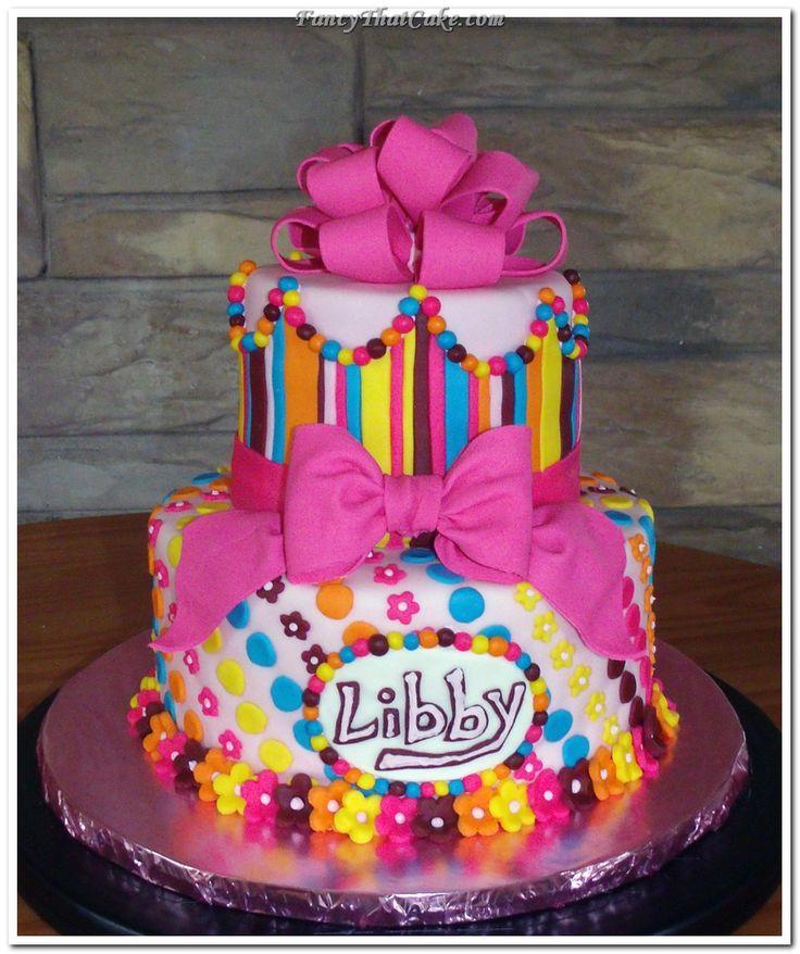 LITTLE GIRL BIRTHDAY CAKES IMAGES  Pretty Little Girls Birthday Cake