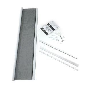 Standard height 36 in. W x 80 in. H ODL Retractable Screen in white for Single Inswing Door-RTMW01 at The Home Depot - for the patio door.