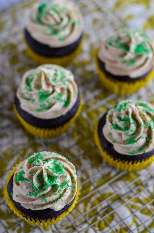 Irish Coffee Cupcakes | http://mybakingheart.com