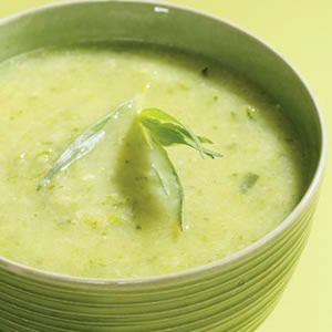Herbed Zucchini Soup - This is one of the few soups that make the cut ...