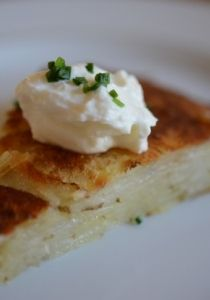 Potato Galette With Caraway Brown Butter Recipe — Dishmaps