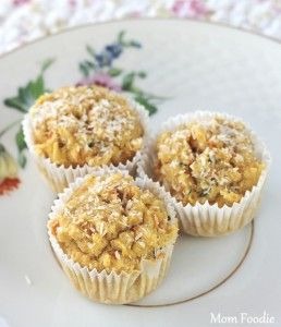 Blueberry Corn & Oat Muffins | Gluten Free | Pinterest
