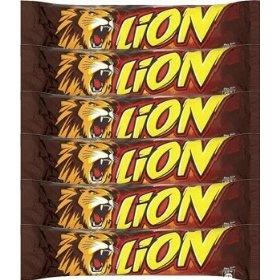 Lion candy bars!