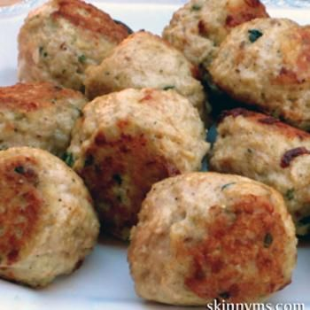 Skinny Italian Turkey Meatballs Recipes — Dishmaps