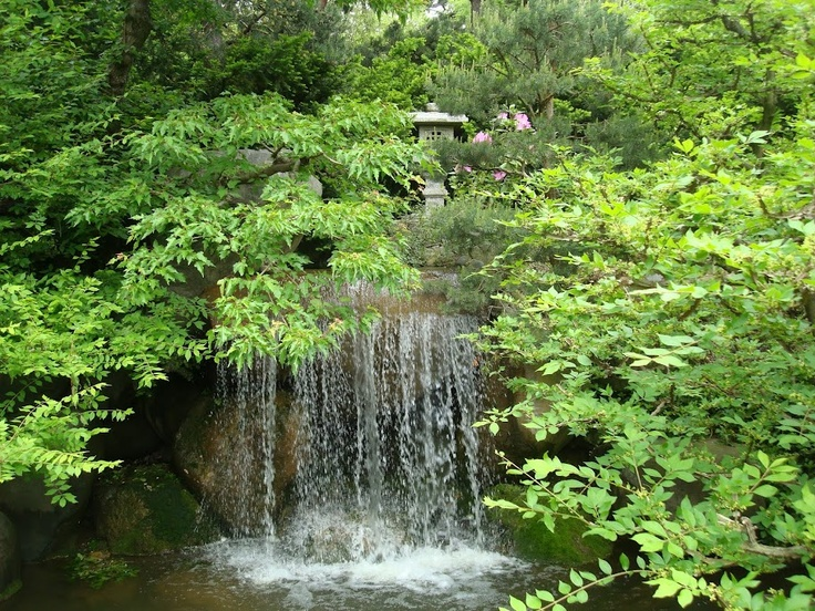Anderson Japanese Gardens Waterfall For The Garden