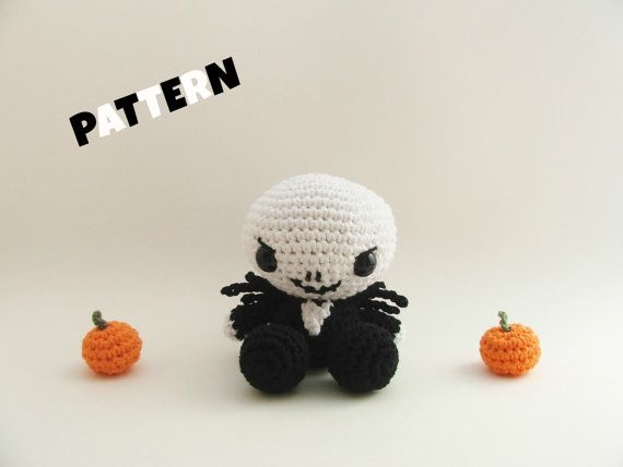 Crochet Jack Skellington : Crochet Jack Skellington / Crochet Pattern / by LittleBittyKnitter, $6 ...