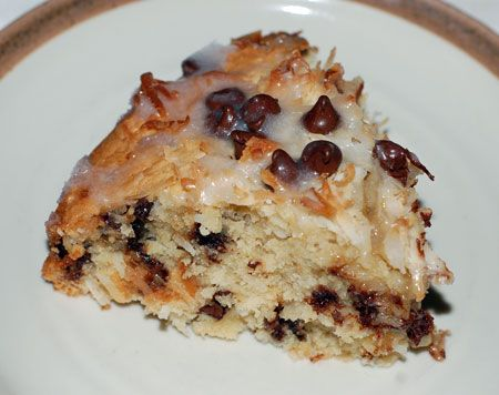 Chocolate Chip Coconut Cake | Cakes and Pies | Pinterest