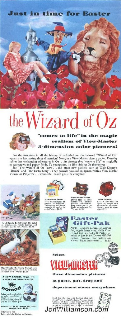 View-Master Wizard of Oz